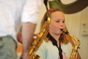 Saxofoonles Deventer voor kinderen